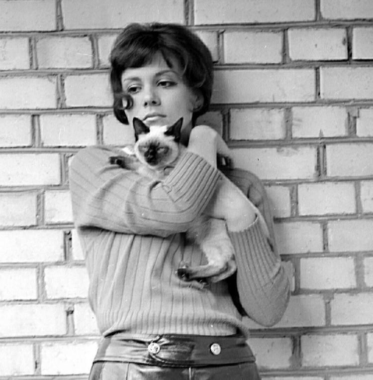 Актриса Валентина Малявина в 60-е годы.