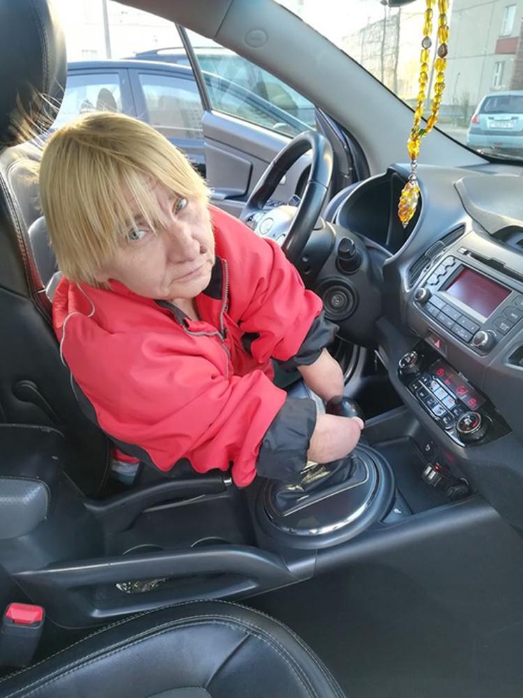 - Если бы было специальное оборудование, при помощи которого я со своей инвалидностью смогла управлять машиной, я бы рискнула! Фото : Денис Василевич