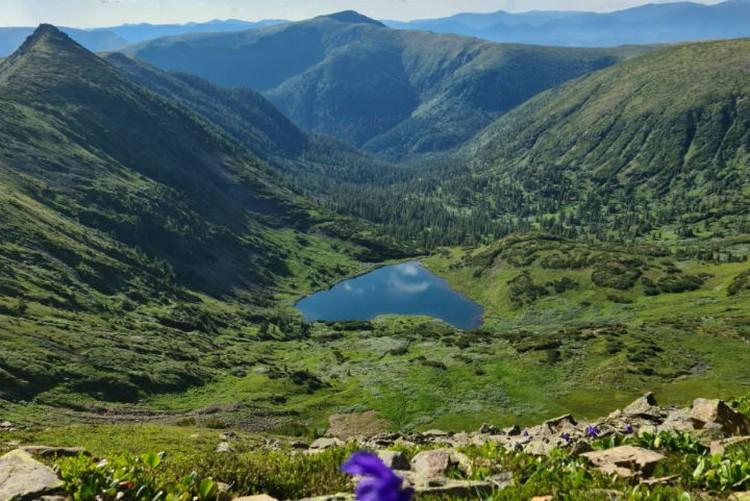 Озеро Сердце поражает своей красотой. Фото: личный архив Оксаны Совы