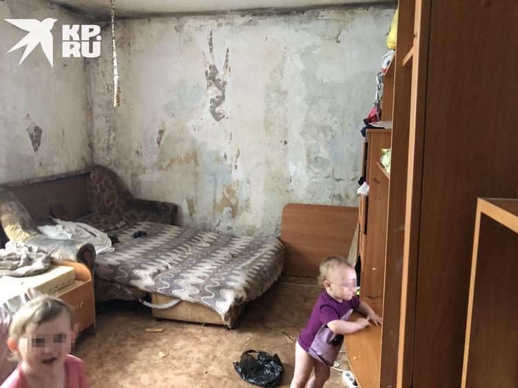 Дети живут в невыносимых условиях. Фото: Анна ТАЖЕЕВА