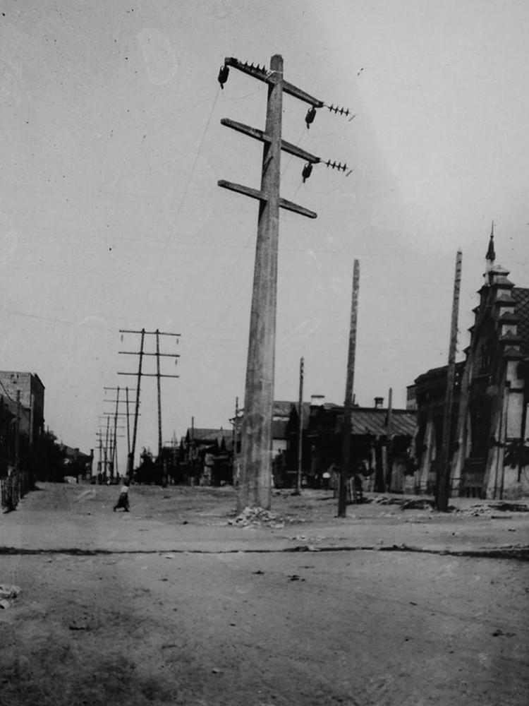 Первая линия электропередачи в Самаре