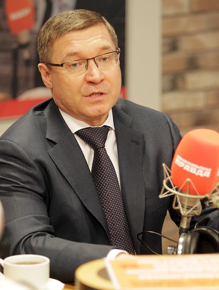 Министр строительства и ЖКХ в эфире программы «Вечерний Мардан» на Радио «КП»