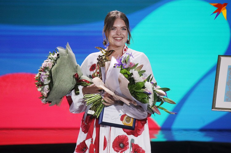 Украинка Элина Иващенко по баллам была равной с Романом - но в итоге лучила первое место.