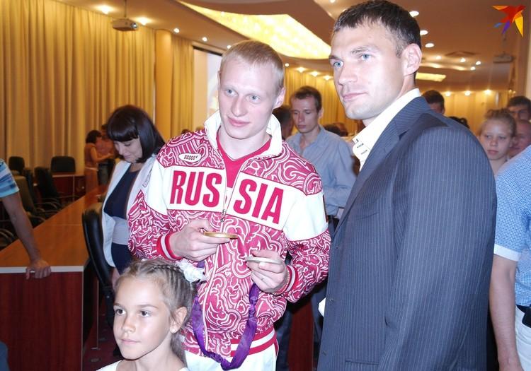 Олимпийский чемпион и призер Олимпиады - Илья Захаров и Сергей Улегин