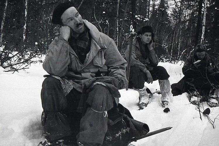 Семен Золотарев (слева) - единственный участник перехода, имевший опыт серьезных походов.