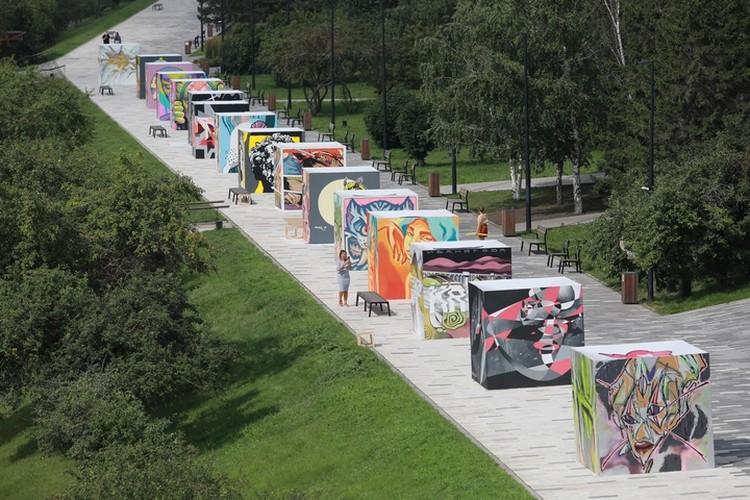 Фестиваль граффити на набережной