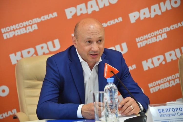 Валерий Белгородский, ректор РГУ им. А.Н. Косыгина.