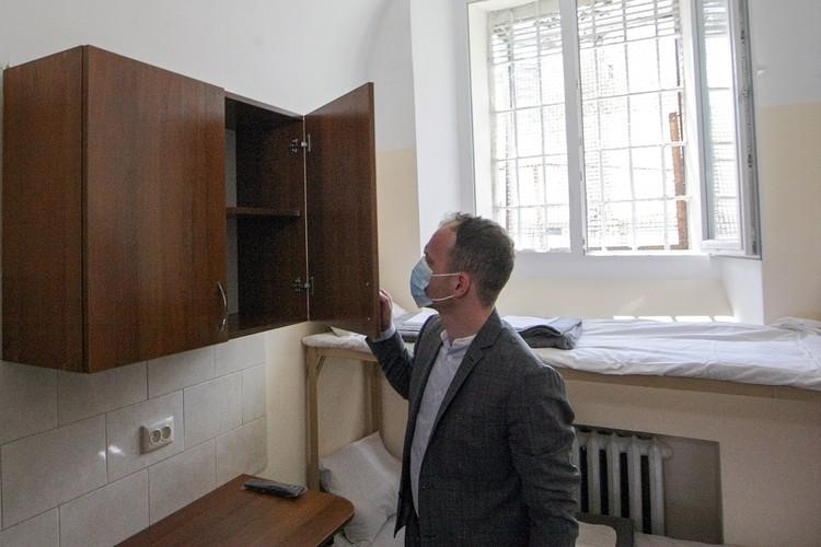 Платная камера киевской тюрьмы