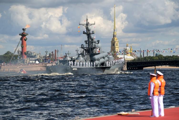 В 2020 году в состав ВМФ будут приняты 40 кораблей и судов