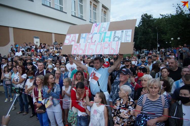Семья гомельчан выступает за честные выборы