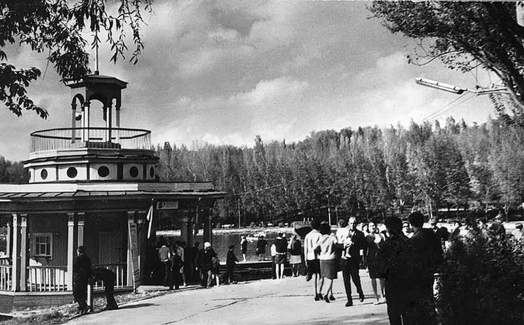 Лодочная станция, середина 1960-х. Фото: А.Лысенко