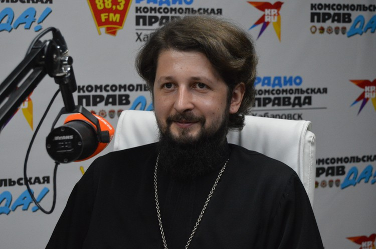 Отец Николай Столбиков, клирик-налоговик УФМС по Хабаровской Епархии