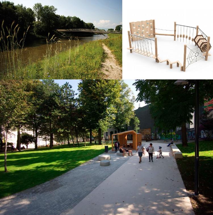 Появятся зоны для прогулок, и велосипедов / Фото: Смольный
