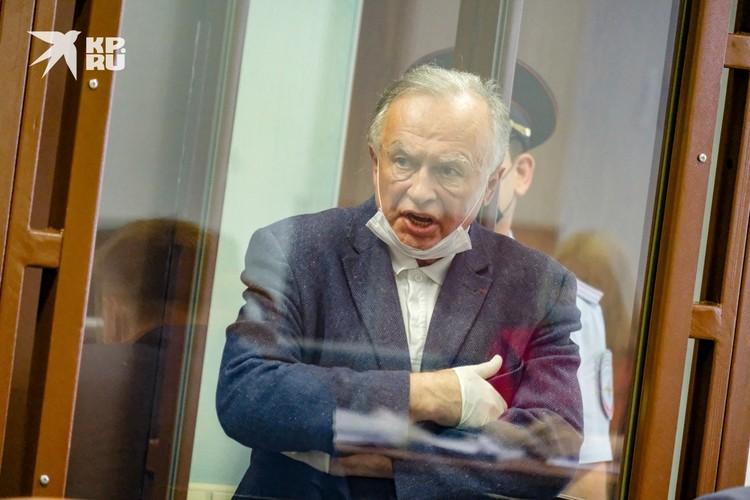 Соколов не мог сдерживать себя в суде