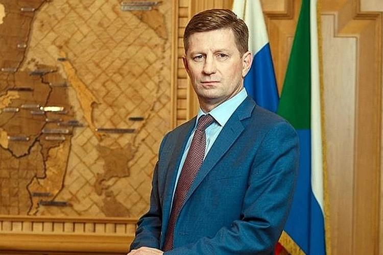 Экс-губернатор Хабаровского края Сергея Фургал. Фото: пресс-служба