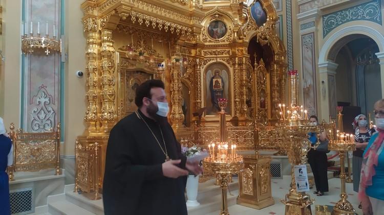 Протоиерей Даниил Азизов рассказал об истории собора Рождества Пресвятой Богородицы
