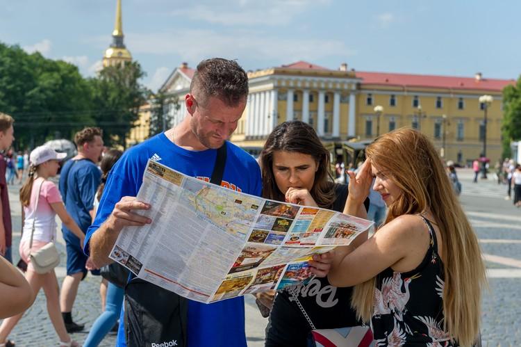 В Санкт-Петербург уже вернулись туристы.