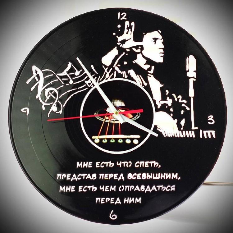 Проект Виниловое Время (Vinyl Time) - часы на пластинках.