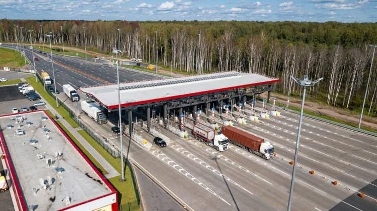 На автомагистрали действуют все транспондеры, которые есть в России, в том числе автодоровский T-pass и транспондер ЗСД.