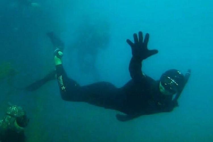 Иногда спортсмены устраивают фан-дайвы - плавают в свое удовольствие, рассматривая рыбок и затонувшие корабли
