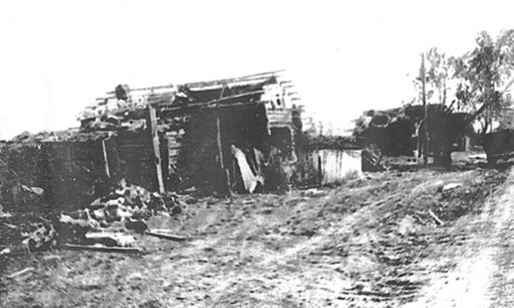 Юргинка, 1971 год. Фото из районной газеты «Слава Труду»