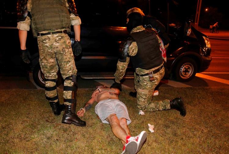 Во время протестов в Минске пострадало немало демонстрантов
