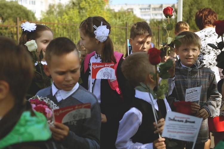 Акция «Цветы жизни» проходила в Пермском крае уже дважды. Фото: благотворительный фонд «Дедморозим»