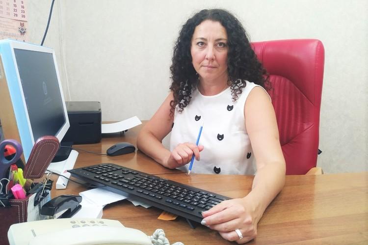 Начальник управления записи актов гражданского состояния г. Севастополя Жарикова Ирина Валериевна