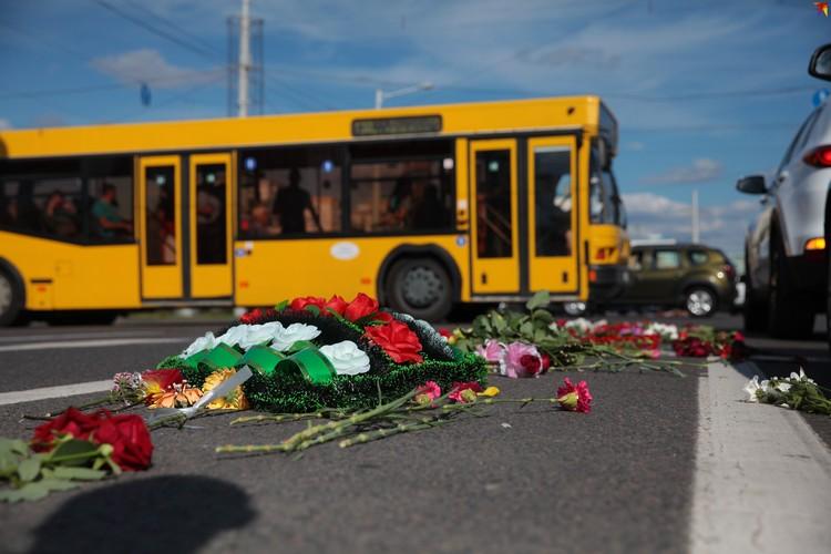 10 августа около метро Пушкинская погиб протестующий