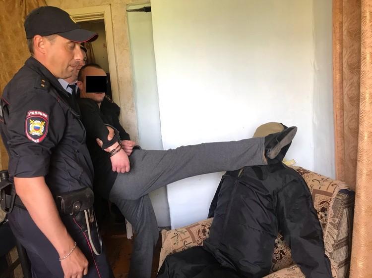 Следственный эксперимент на месте преступления. Фото: пресс-служба СУ СКР по Свердловской области