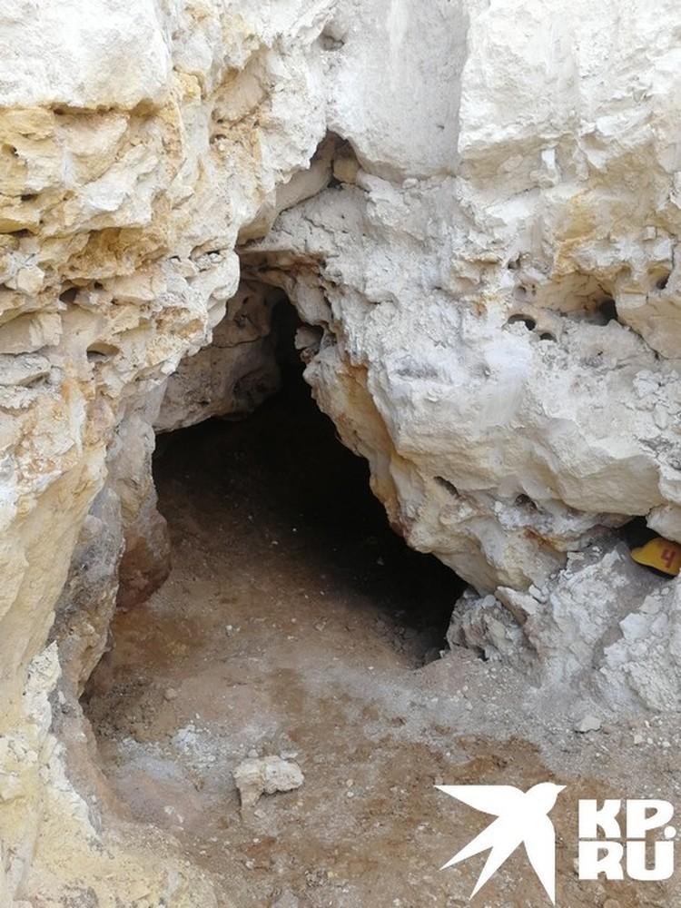 Вход в пещеру. А дальше — почти 2 км лабиринтов.