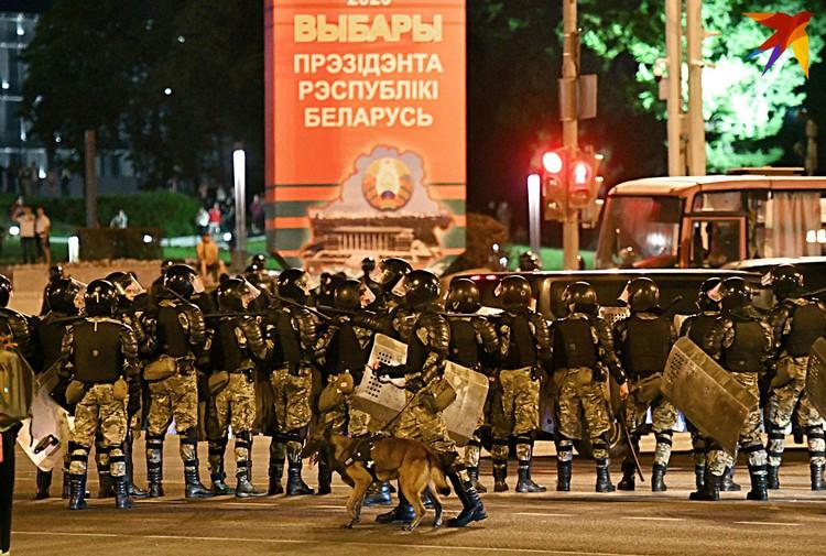 Спецназ внутренних войск.