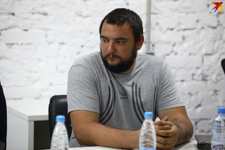 Представитель МТЗ Сергей Дылевский представляет в совете рабочий класс.