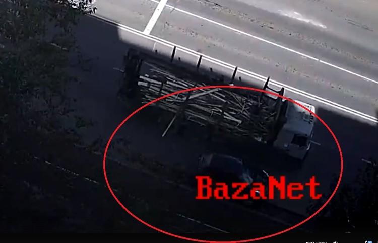 За мгновение до удара. Стоп-кадр baza.net