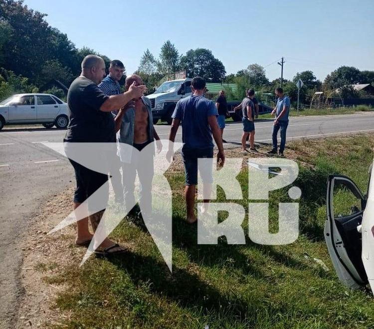 Юрий Спарихин пытался скрыть от полицейских в Апшеронском районе на автомобиле.