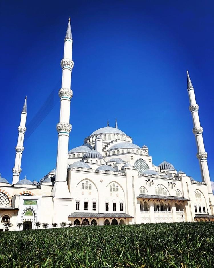 Религиозный комплекс, построенный Эрдоганом