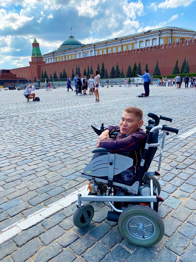 Прогулка по Красной площади. Фото: Сергей ЗАЙКОВ