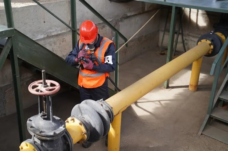 С непростым заданием газовики справляются на «отлично».