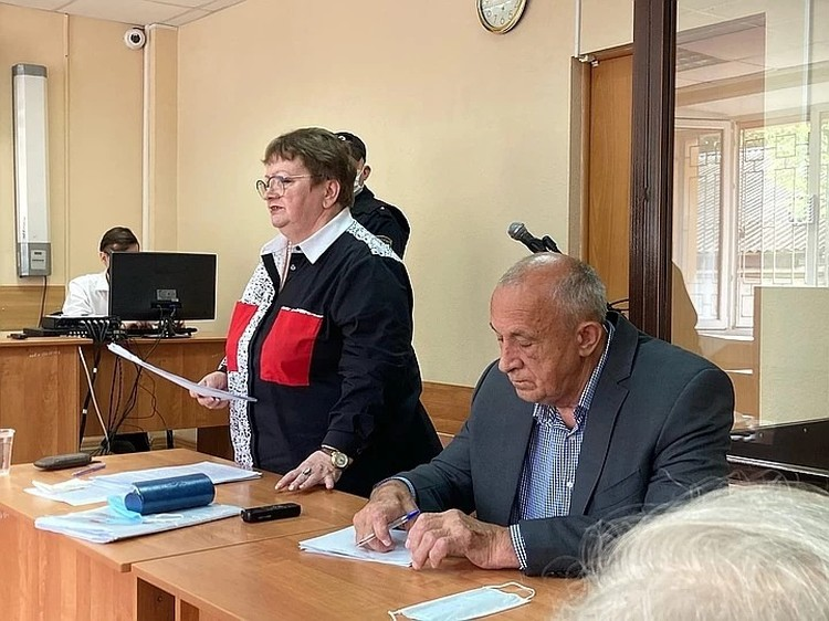 Соловьеву стало плохо в зале суда
