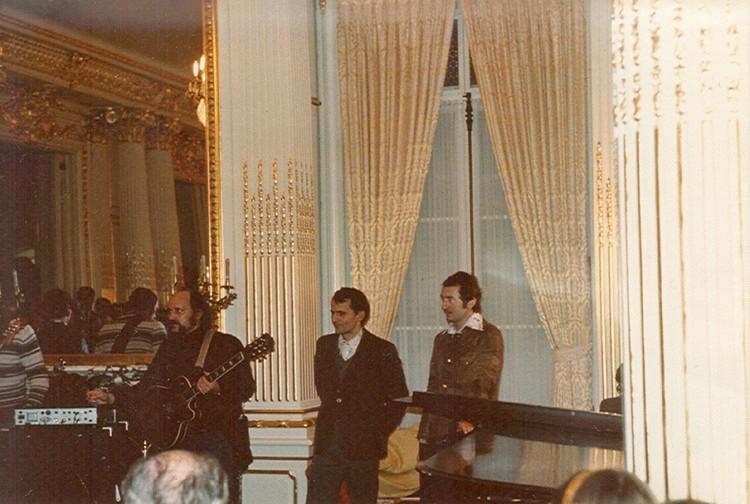 """Дополнительный концерт """"Песняры"""" дали в советском Посольстве в Вашингтоне. Фото: pesnyary.com"""