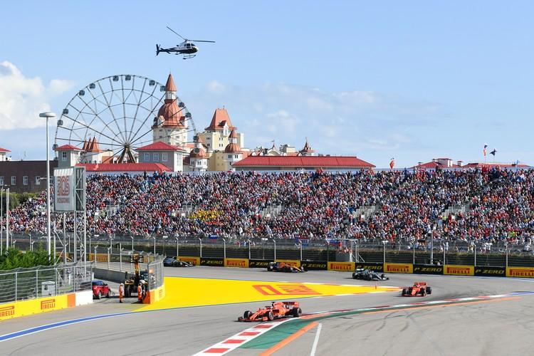 Программа и расписание Гран-При России Формуы 1 в Сочи 2020 Фото: Росгонки