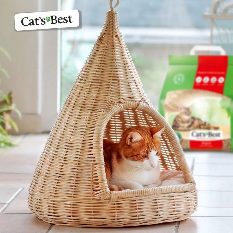 Cat's Best — это качественные древесные комкующиеся наполнители для домашних питомцев. Фото предоставлено организаторами.