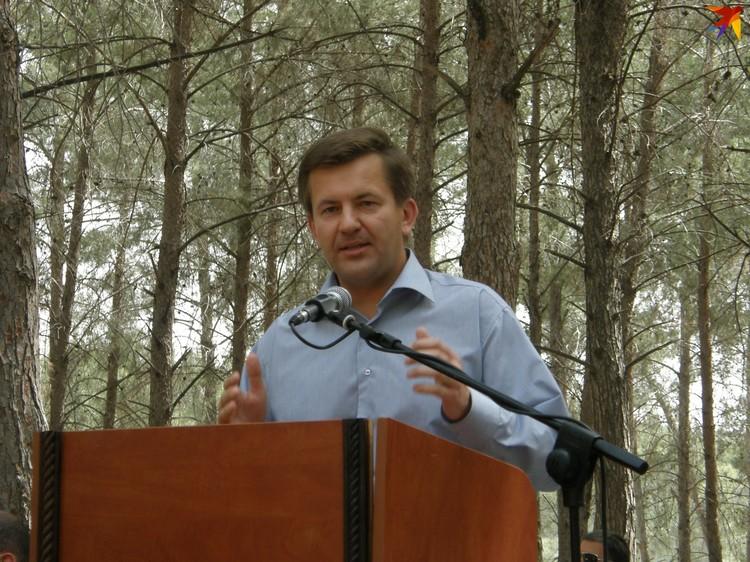 Игорь Лещеня также был послом Беларуси в Израиле. Фото: личный архив.