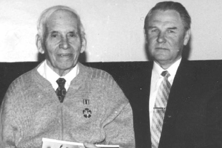 Жорж Коваль (слева) и историограф ГРУ Владимир Лота.