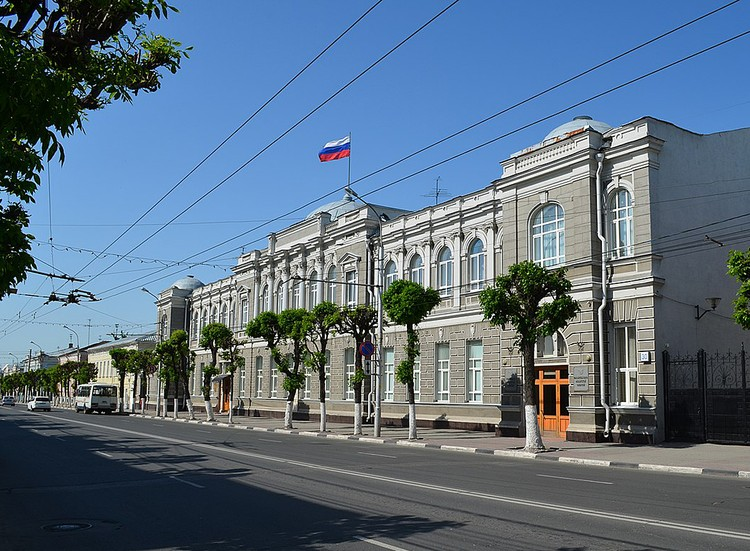 Дом № 30 по улице Ленина - Здание Правительства Рязанской области