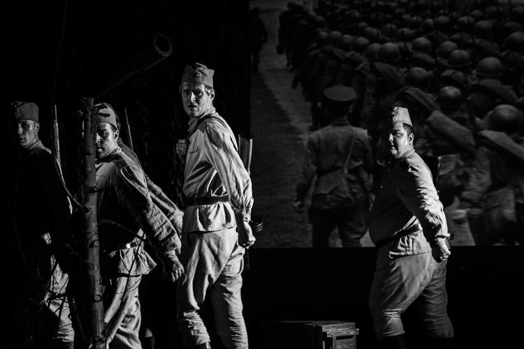 «Страшный бой идёт, кровавый, смертный бой не ради славы, ради жизни на земле...» Фото: Наталья Тихонова.