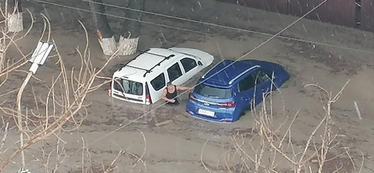 Новороссийск затопило. Фото: Юлиана Староверова