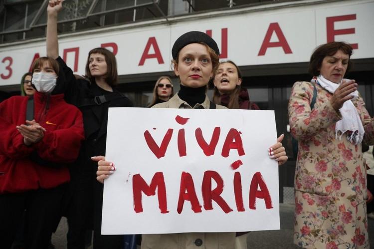 Странная история с пропажей белорусской оппозиционерки Марией Колесниковой вылилась в Минске в очередной «бабий бунт».