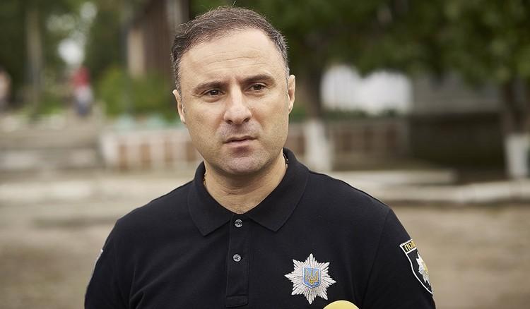 Начальник полиции Одесской области Георгий Лорткипанидзе, 2016 г. Фото: Архип Верещагин/ТАСС