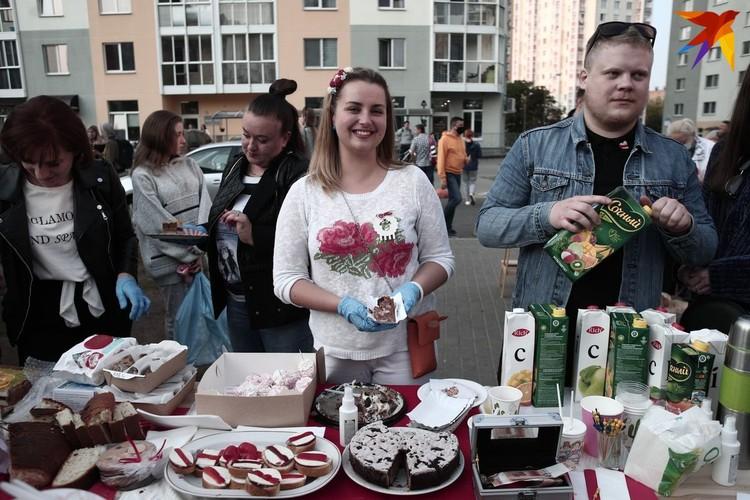 12 сентября в Минске на «Площади перемен» прошла ярмарка.